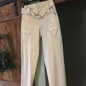 Cache Cream Dress Pants